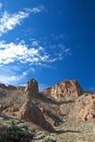 Skalistej scenerii pobliska góra Teide wulkan na Tenerife Zdjęcie Stock
