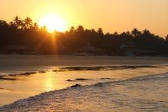 Skalisty Arambol Palolem plaża Zdjęcia Royalty Free