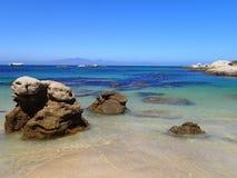 Skalisty Brzegowy Kapsztad obrazy royalty free