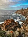 skalisty Galicia brzegowy ocean fotografia royalty free