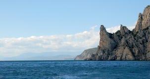 Skalisty Krymski wybrzeże fotografia stock