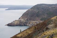 Skalisty linia brzegowa widok Zdjęcie Royalty Free