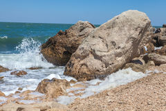 Skalisty littoral Zdjęcie Stock
