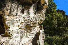 Skalisty monaster Aladzha, Bułgaria obraz stock