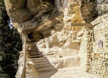 Skalisty monaster Aladzha, Bułgaria obraz royalty free