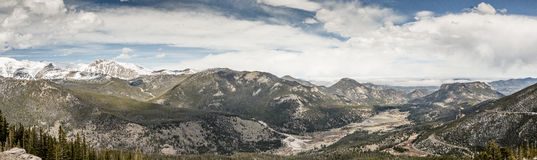 Skalisty MountainPanorama Obrazy Royalty Free