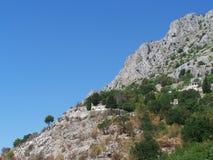 Skalisty Seacost w Chorwacja zdjęcie royalty free