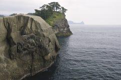 skalisty seascape Zdjęcie Royalty Free