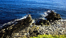 skalisty seashore Fotografia Stock
