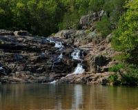 Skalisty spadku park w Missouri fotografia stock