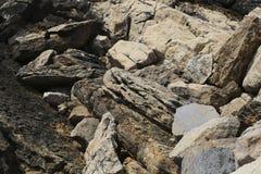 Skalisty wybrzeże w Portugalia fotografia royalty free