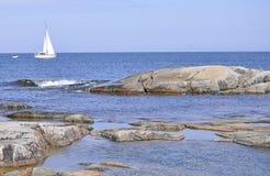 Skalisty wybrzeże Zdjęcie Royalty Free