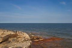 Skalisty wybrzeże Obrazy Royalty Free