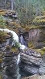 Skalistych gór jaru lód Zdjęcia Royalty Free