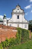 SKalka教会门面在克拉科夫,克拉科夫,波兰 免版税图库摄影