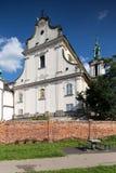 Skalka kyrka i Krakow, Europa, Polen royaltyfri foto