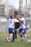 skall för rugby för ondrej för uppgiftsjiri kutil Arkivfoto