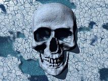 Skalle av död - is Vektor Illustrationer