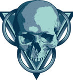 Skalle Illuminati Royaltyfri Fotografi