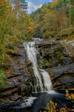 Skalliga flodnedgångar i Tennessee, USA Arkivfoto