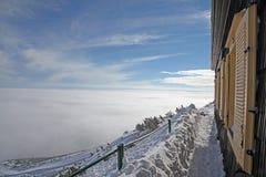 Skalnata chata. Cottage/chalet in High Tatras mountains, Slovakia stock photos
