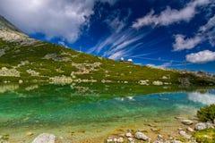 Skalnate Pleso, Slovakia. HDR Stock Photography