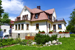 Skalnica, maison de vacances dans Zakopane Photo stock