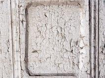 Skalning av den målade dörren Royaltyfri Bild