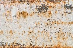 Skalning av målarfärg Rusty Background Arkivfoton