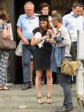 Skalowanie ceremonia w Florencja Zdjęcie Stock