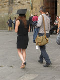 Skalowanie ceremonia w Florencja Fotografia Royalty Free