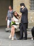 Skalowanie ceremonia w Florencja Obraz Royalty Free
