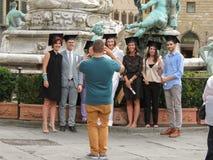 Skalowanie ceremonia w Florencja Zdjęcia Stock