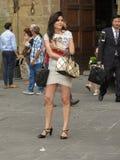 Skalowanie ceremonia w Florencja Obrazy Stock
