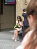 Skalowanie ceremonia w Florencja Zdjęcia Royalty Free