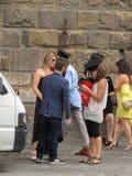 Skalowanie ceremonia w Florencja Zdjęcie Royalty Free