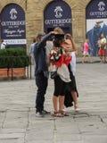 Skalowanie ceremonia w Florencja Fotografia Stock
