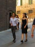 Skalowanie ceremonia w Siena Fotografia Stock