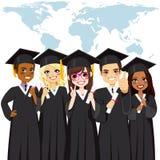 Skalowanie Grupowa Globalna różnorodność ilustracja wektor