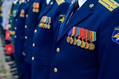 Skalowanie wojskowego studenci medycyny Fotografia Stock