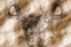 Skamieliny fikcyjny dinosaur Zdjęcie Stock