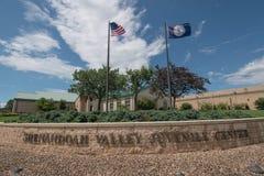 Skandal för missbruk Shenandoah Valley för barnslig mitt invandrande royaltyfria foton