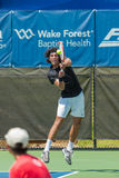 Skander Mansouri at the Winston-Salem Open Royalty Free Stock Photography