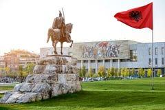 Skanderbeg square Stock Photos