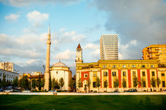 Skanderbeg square royalty free stock image
