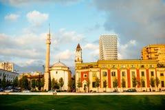 Skanderbeg square Royalty Free Stock Image