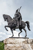 Skanderberg statue Stock Photo
