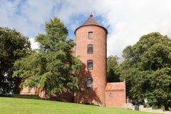 Skanderborg Schloss-Kirche stockfotografie