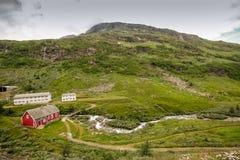 Skandinavien berg Arkivbild