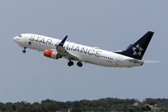 Skandinavier (Dämpfungsregler) 737 entfernend Lizenzfreie Stockfotografie